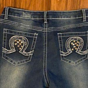 Revolt boot cut jeans size 10
